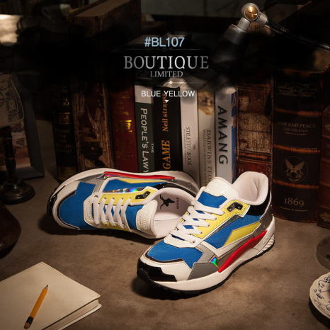 AKIIICLASSIC BOUTIQUE BLUE YELLOW